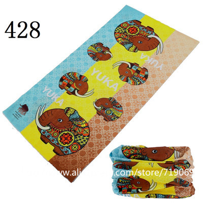 12pcs/lot 401-500 wholesales Scarf Seamless Bandana Magic hijab headwear Face Mask Neck Sunscreen Muffler Magic  Scarves