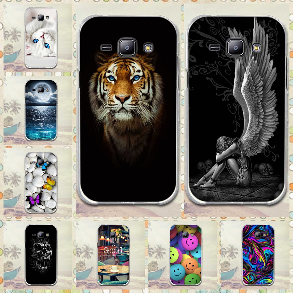 For <font><b>Samsung</b></font> <font><b>Galaxy</b></font> <font><b>J1</b></font> <font><b>J100</b></font> <font><b>2015</b></font> Phone Cover Coque Cute Cartoon Soft Silicone For <font><b>Samsung</b></font> <font><b>Galaxy</b></font> <font><b>J1</b></font> J100H J100F <font><b>2015</b></font> Cover Case image