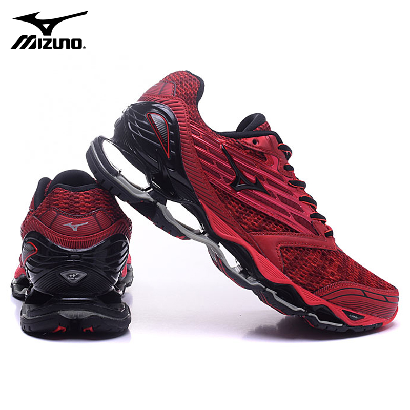2018 New MIZUNO Wave Prophecy 5 Men Shoes Professional Running Shoes Damping basketball shoes Sports Weight lifting Shoes new help in basketball shoes hip hop sports running shoes