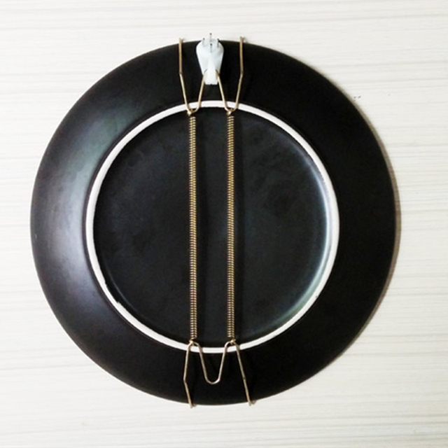 10pcs 10inch Wall Display Plate Dish Hangers Holder For Home Wall Decoration Plate Dish Hangers Hook & 10pcs 10inch Wall Display Plate Dish Hangers Holder For Home Wall ...