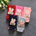 free shipping 2016 new hot cute fashion baby boy girl leggings cartoon rabbit Children kid baby girl boy pants
