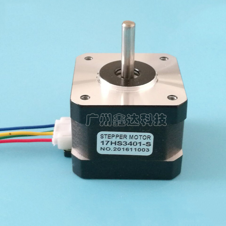 Free shipping 1pcs 17HS3401S and Quality 4-lead Nema17 Stepper Motor 42 motor 42BYGH 1.3A CE ROSH ISO CNC for 3D printer