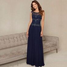 Elegante Perlen Chiffon Formales Kleid Chic Illusion Zurück Flügelärmeln Abendkleider 2016 Mit Pailletten Vestido de festa