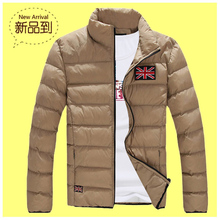 Winter Men Jacket 2017 Brand Casual New Printing Mens Jackets And Coats Thick Parka Men Outwear 4XL