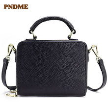 New lady bag vintage real leather wholesale mini small shoulder handbag