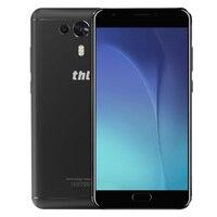 Оригинал THL рыцарь 1 4 г Phablet 5,5 ''Android 7,0 MTK6750T Octa Core 3 ГБ + 32 ГБ 13MP + 2MP двойной сзади камеры отпечатков пальцев мобильный телефон