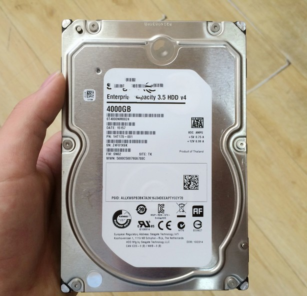 4T ST4000NM0024 HDDv4 128M server enterprise hard drives