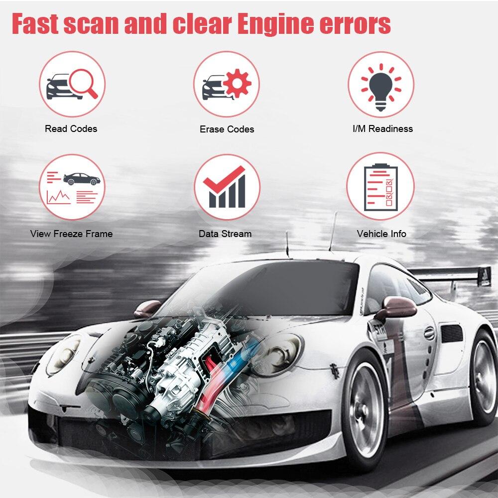 Foxwell NT200C OBD OBD2 Automotive Scanner Read And Erase Codes Car ...