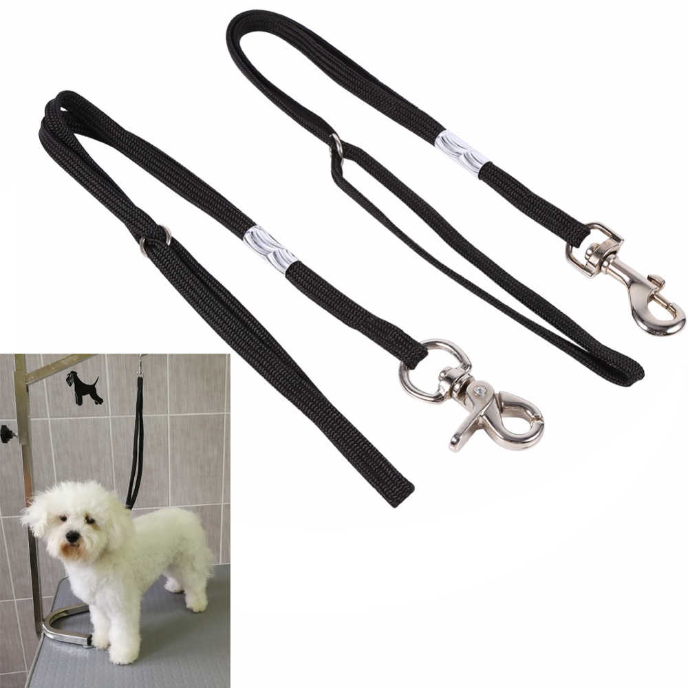 Dog Pet Cat Animal Noose Loop Lock Clip Rope For Grooming Table Arm Bath Adjustable Restraint Rope Harness Pet Accessories