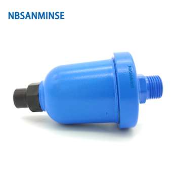 NBSANMINSE SR20A G1/2 1.2Mpa Auto Drain Floating Drainer Anti - clogging For Air Compressor Machine Robert gf600 25 port g1 semi auto drain air cleaner filter source treatment unit