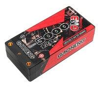 Gaoneng-batería rígida para coche de carreras, accesorio GNB de 5000mAh, 2S, 7,4 V, 120C/240C, batería LiPo de 4,0mm, enchufe decanos para 1/10, B5M, 22 RB6, 22T SCT