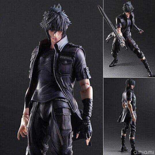 Nouveau hot 28 cm Final Fantasy Noctis Lucis Caelum collectionneurs figurine jouets poupée cadeau de noël