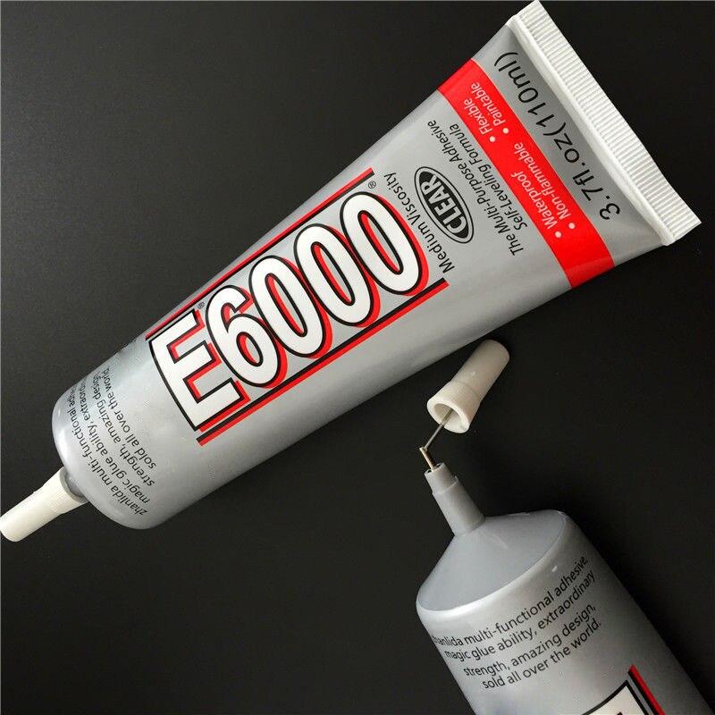 15/25/50/110ML E-6000 DIY Rhinestones Crystals Jewellery Tool Glue Strength Adhesive Liquid Glue For Craft Works Making