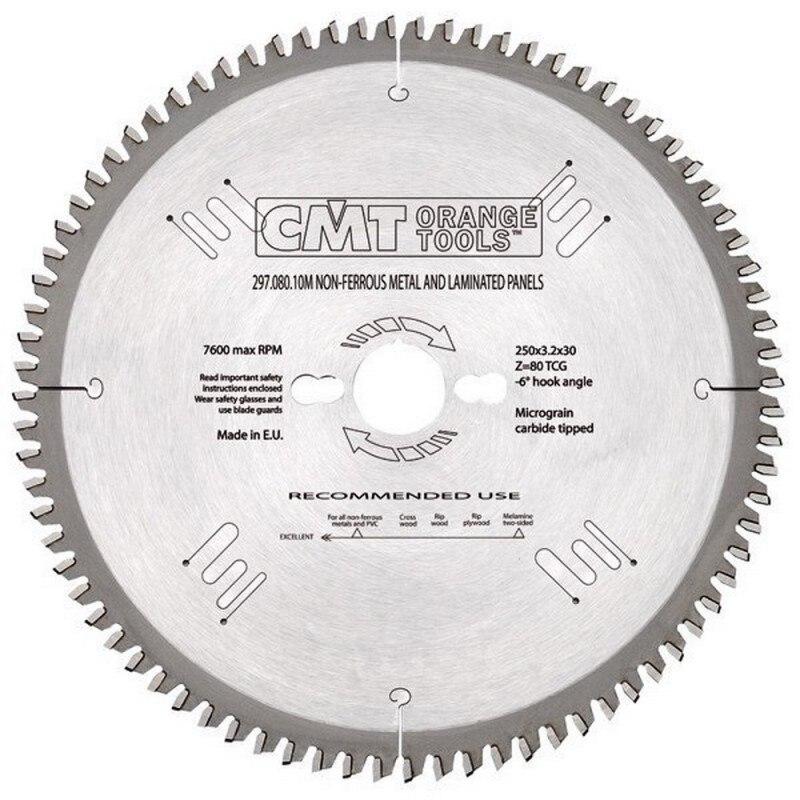 CMT 297.080.11M circular saw D 260x2.8x30 Z 80 TCG|Power Tool Sets| |  - title=
