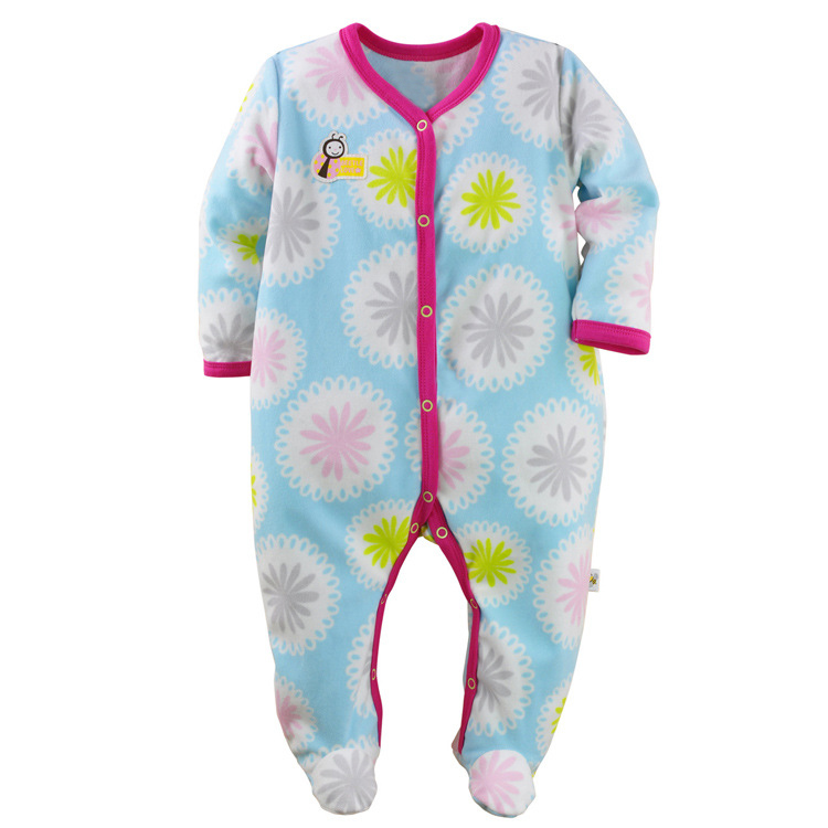 2017 New Born Baby Clothes One-pieces Spring Autumn Baby Rompers Girls Clothes Infant Girls Romper Newborn Infant Clothing baby clothing summer infant newborn baby romper short sleeve girl boys jumpsuit new born baby clothes