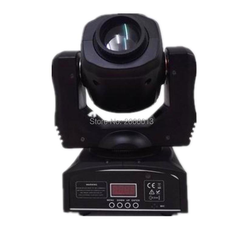 Free Fast shipping 60W Mini LED Spot Moving Head Light 60W gobo moving head super bright