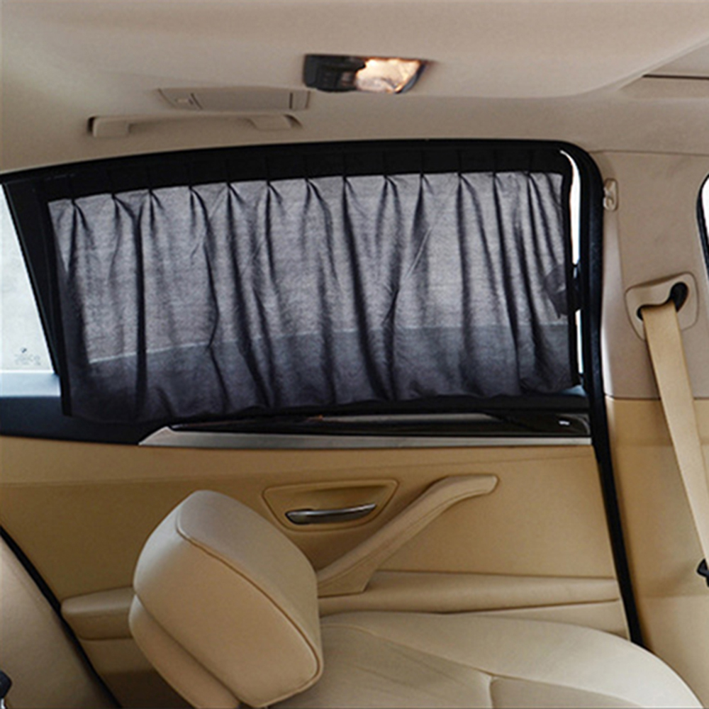 Car interior curtains - Car Curtains Sunshade For Side Window Interior Accessories Black Car Styling Car Sun Shade Uv Protection