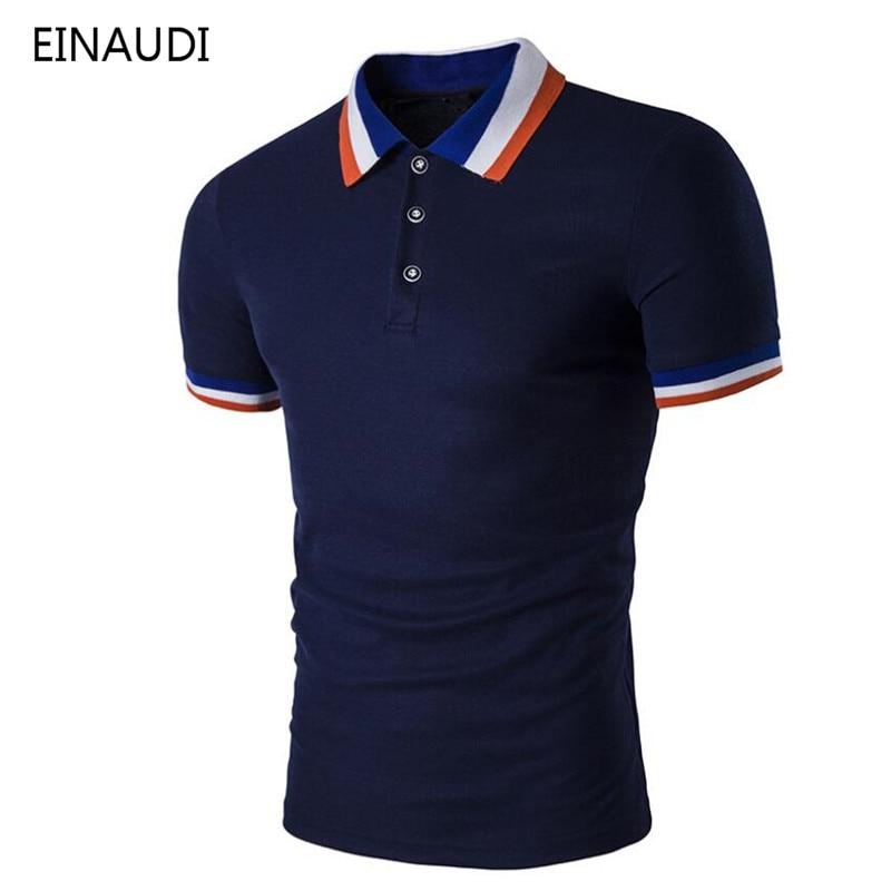 2018 Neue Marke Sommer Baumwolle Revers Männer Polo Hemd Kurzarm Männer Europäischen Und Amerikanischen Stil Polo Plus Größe 3xl Mutter & Kinder