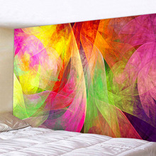 Bohemian home decor wall tapestry hanging huge Color psychedelic band fairyland
