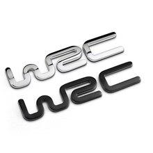 Автомобильный дизайн 3D металлическая WRC Автомобильная наклейка с эмблемой, значком для Toyota BMW Ford Fiat Citroen Audi benz Volkswagen VW Golf Cruze