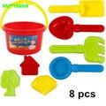 Happyxuan 8 unidades kids play juguetes de plástico juego de playa de agua y arena de alta calidad segura