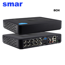 Mini 8 Kanal CCTV DVR Full D1 960 H 12FPS H.264 8CH HDMI 1080 P Sicherheit NVR Hybrid DVR Recorder XMEYE Wolke P2P RS485 PTZ Heißer