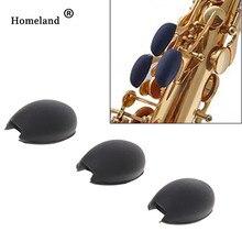 Саксофон клавиатура аксессуары 3 шт. саксофон упор для большого пальца Saver подушка коврик для Sax большого пальца музыкальный инструмент