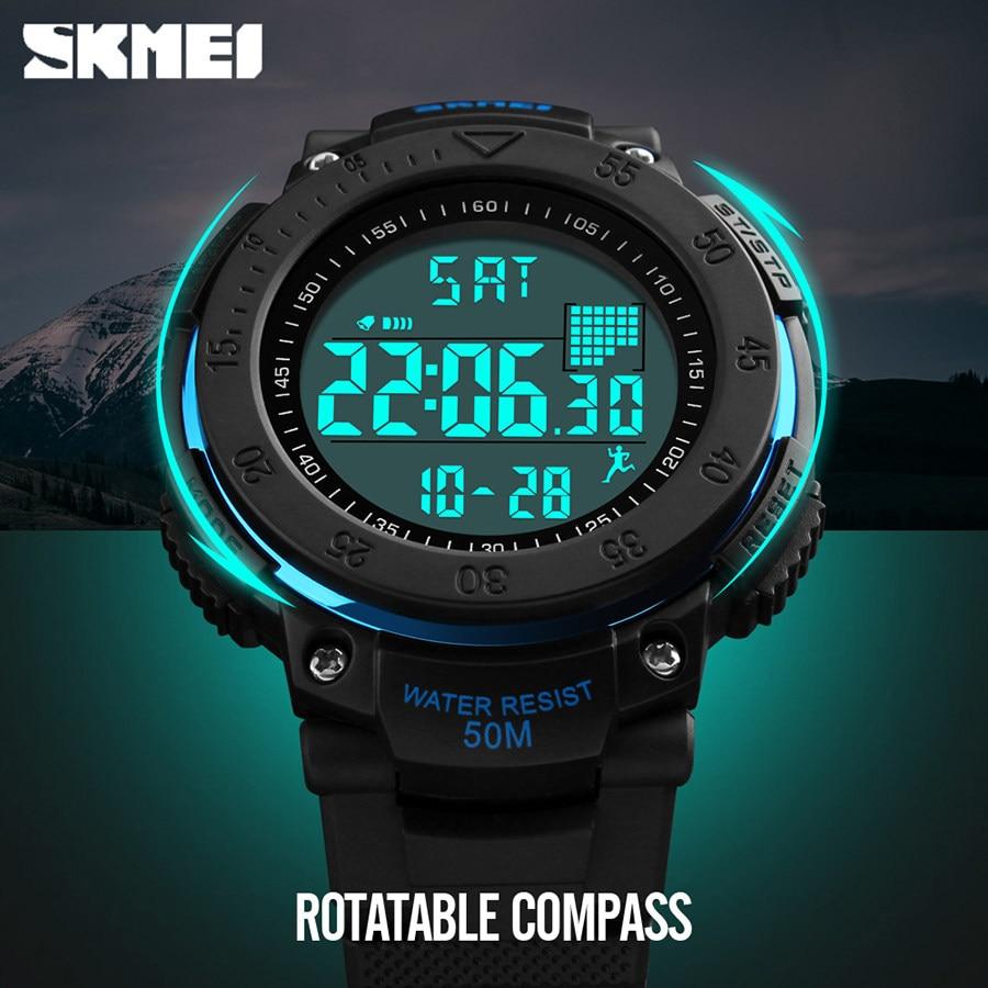 611825279d7e SKMEI Men Pedometer 3D Multifunctional Sports Watches Relojes Waterproof  Relogio Masculino LED Digital Wristwatches Relojes 1238