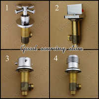 bathroom brass split mixer valve, shower faucet accessory