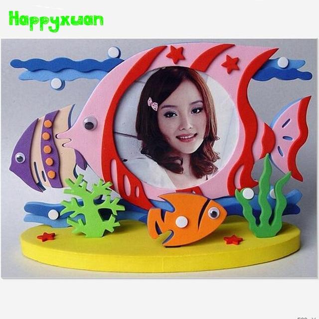 Happyxuan 4 unids/lote Niños DIY Pegatinas De Espuma EVA Kit de ...