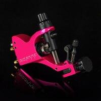 Profesjonalne stopu rotary tattoo machine różowy tatuaż obrotowy silnika pen
