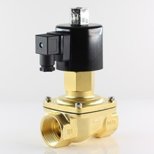 DN32 Direct Acting Solenoid Valve,Normally Open,AC 220V AC 110V DC 12V 24V hot water, oxygen, oil valves,Configurable models