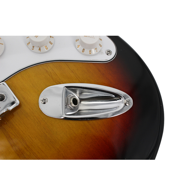 38 Inch High Quality Sunburst Electric Guitar 10