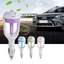 LUCKY WINNER New Car Humidifier Air Puriifer Aroma Diffuser Sprayer Mute Mist Maker Auto Fragrance Spray Freshener