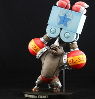 New 30cm Rhino FRANKY One Piece Animation Collection Action Figure Model Toy