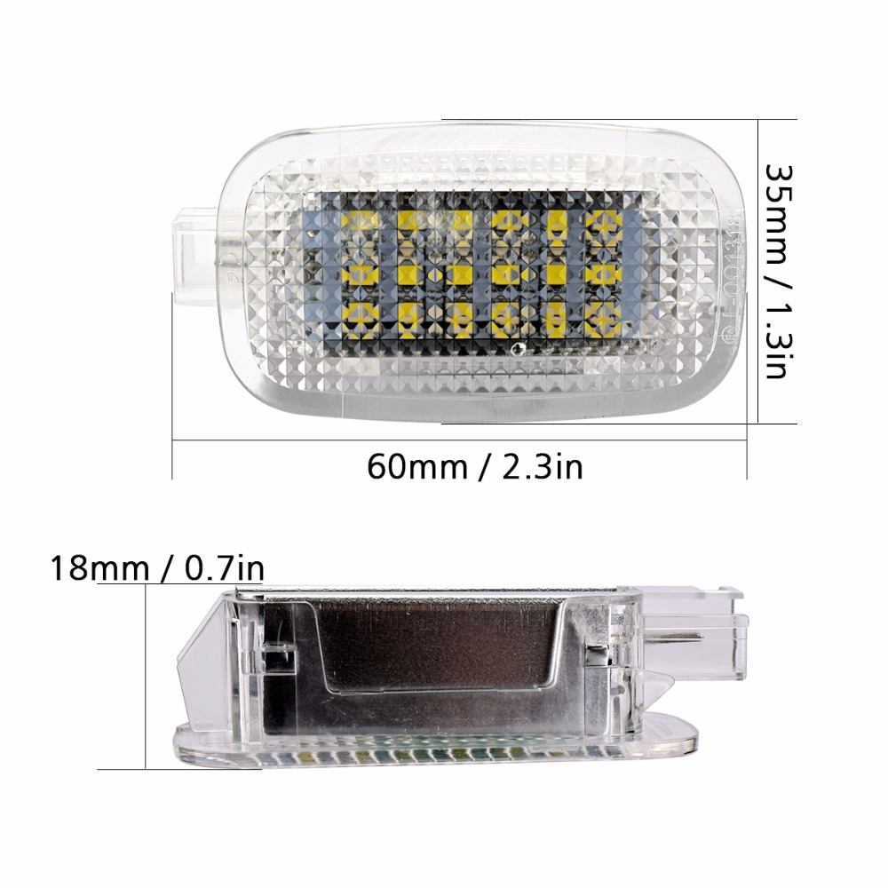 2pc LED Courtesy Under Door Footwell Luggage Compartment Light for Mercedes-Benz W204 W216 C207 C SLS GLK CLK W212 W221 SL GL ML door mirror turn signal light for mercedes benz w163 ml270 ml230 ml320 ml400 ml350 ml500 ml430 ml55