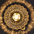 Ceiling Lamp Crystal Lighting with Recessed Mount for Aisle Porch Living Room Balcony LED Ceiling Light