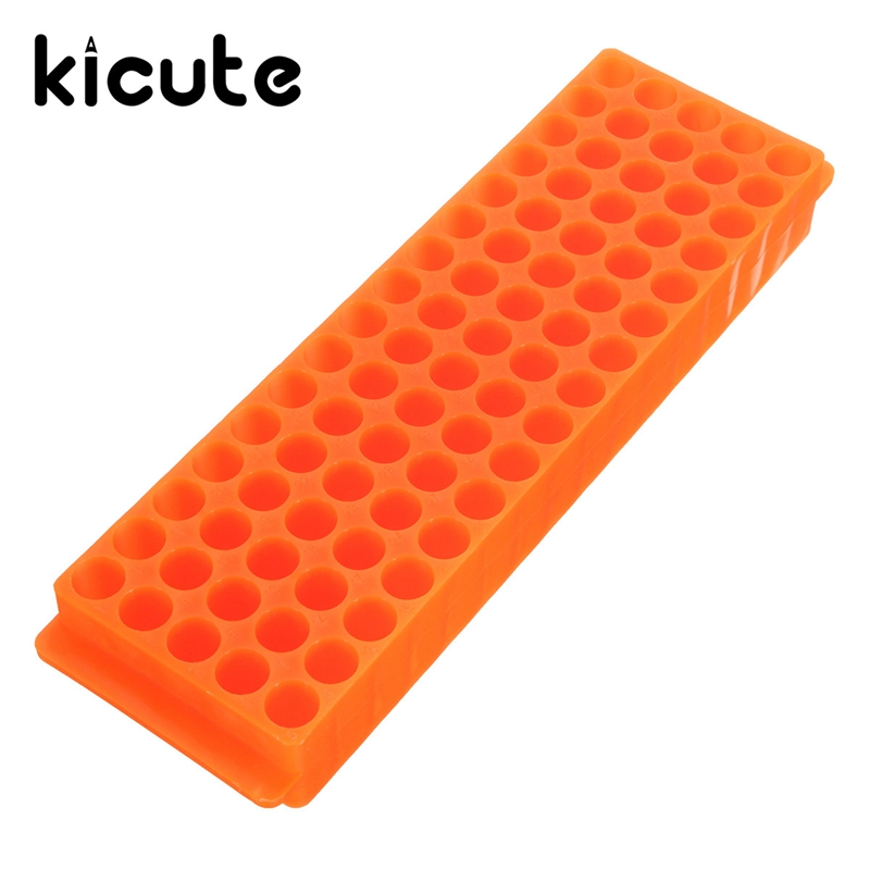 Kicute Excellent 80 Place 0.2ml 1.5ml 2ml Micro Centrifuge Polypropylene Test Tube Rack Holder Lab Supplies Color Randomly 80 1 electric experimental centrifuge medical lab centrifuge laboratory lab supplies medical practice 4000 rpm 20 ml x 6