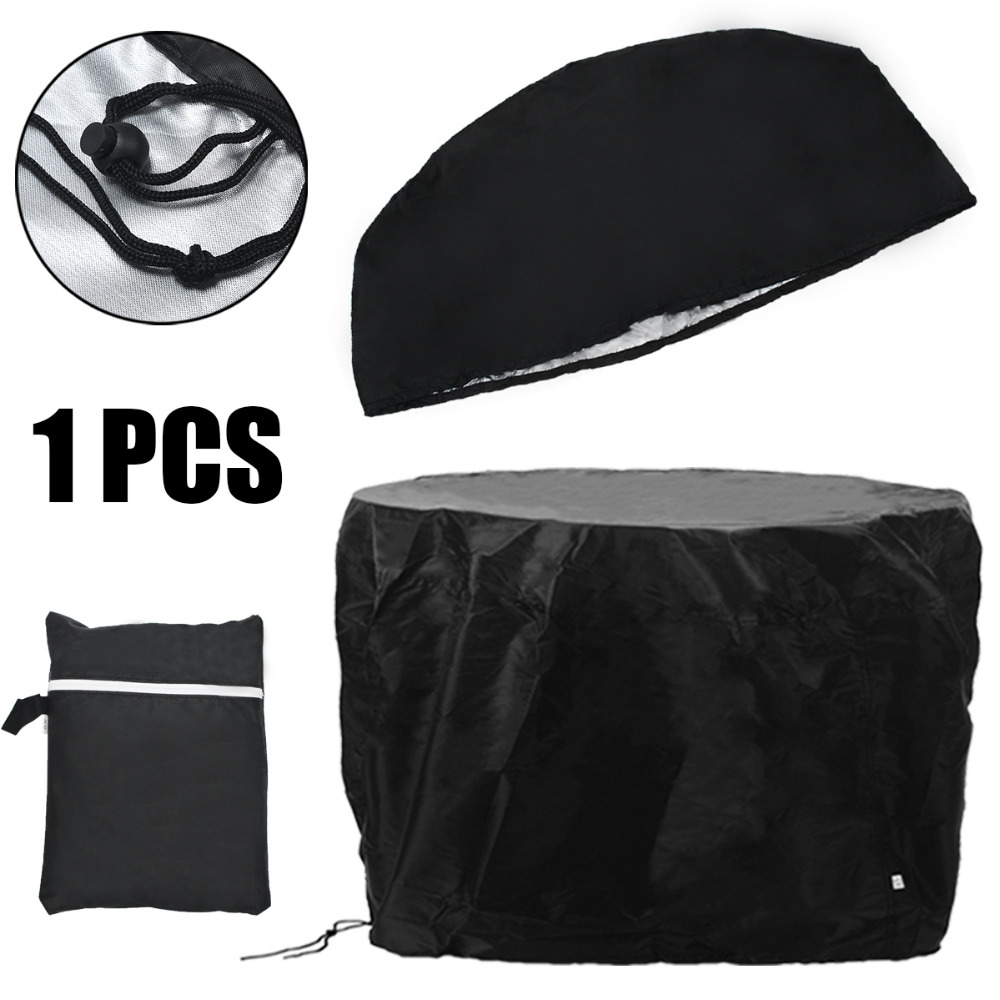 Dogggy 1PCS Outdoor Stand Up Patio Heater Cover Waterproof Air Heater Dust Cover Heavy Duty