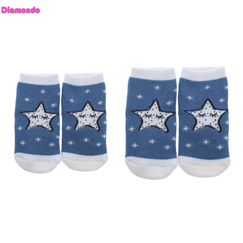 Baby Socks Chidren Winter Boys Girls Cute Cartoon AntiSkid Socks Toddlers Kids Warm Thicken Cotton Blend Short Socks for 0-12M
