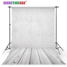SHENGYONGBAO Art Cloth Custom Photography Backdrops Prop Cement wall theme Photo Studio Background TV315