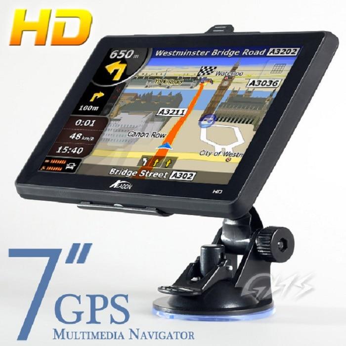 GPS navigacijski uređaj za navigaciju u automobilu s kartama UK / US - Automobilska Elektronika