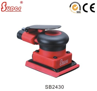 Pneumatic Air Power Orbital Sander Square Polisher Jitterbug Sander NON VACUUM ORBIT 3mm SB2430