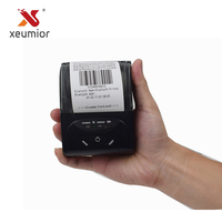 xeumior 58mm Mini Wireless Bluetooth Portable Thermal Receipt Printer For IOS/Android Mobile Printer for Restaurant Supermarket