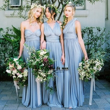 29a8a398e8 Buy blue bridesmaid dresses beach wedding and get free shipping on ...