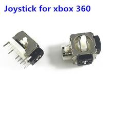 2個3Dアナログ振動ジョイスティックサムスティックコントローラモジュール親指スティックロッカーマイクロソフトxbox 360 Ps2ゲーム修理パー