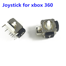 2Pcs 3D Analog Vibration Joystick Thumbstick Controller Module Thumb Stick Rocker For Microsoft Xbox 360 Ps2 Gaming Repair Par