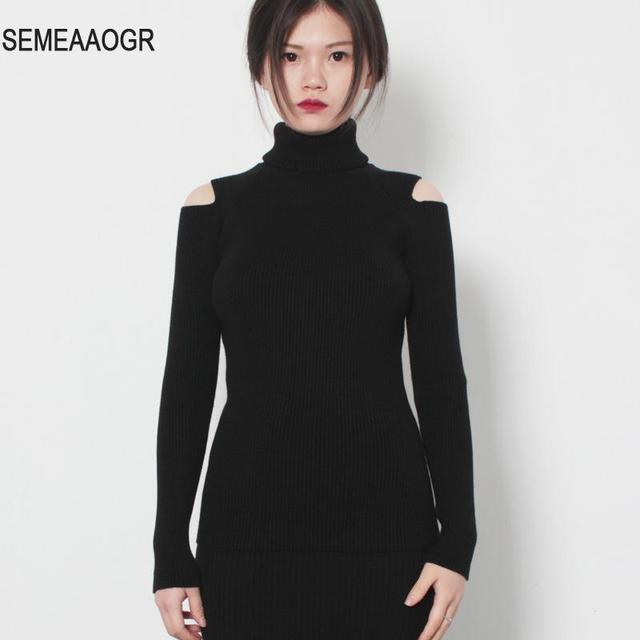 Womens Sweaters Fall 2017 Fashion Cashmere Turtleneck Women ...