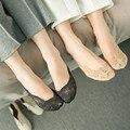 lace antiskid invisible liner no show peds 2017 spring summer nylon peds socks women elegant woman non-slip socks peds liners