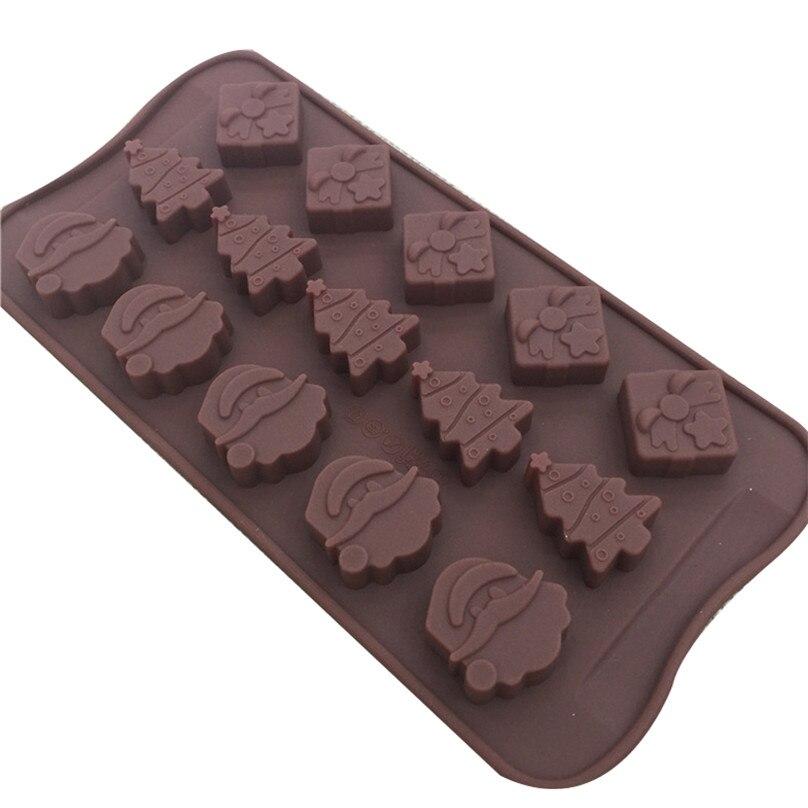 Christmas Tree Chocolate Candy Mold Christmas 2099 NEW